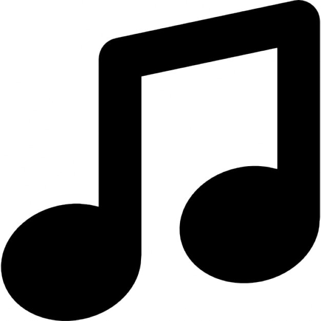 Note Of Music Symbol Icons Free Download