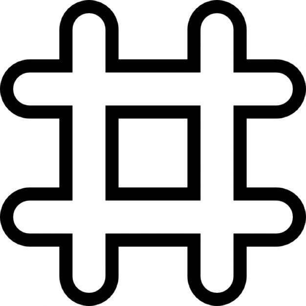 Numeral symbol Free Icon