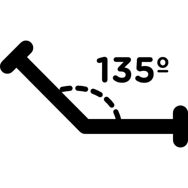 Obtuse Angle Of 135 Degrees Icons Free Download