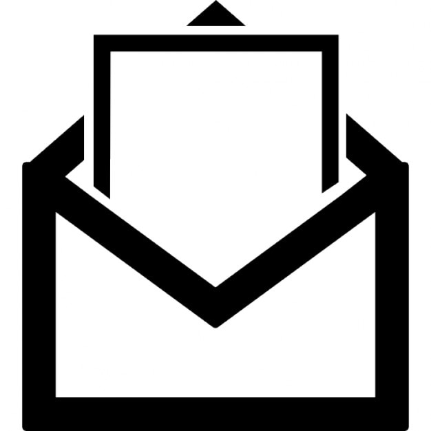 Open mail Icons | Free Download