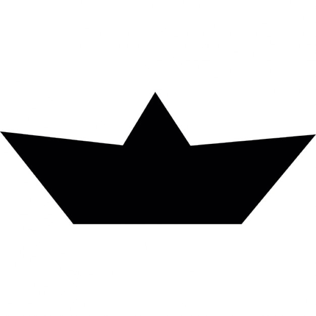 Types Of Boats For Kids >> Paper Boat shape Icons | Free Download