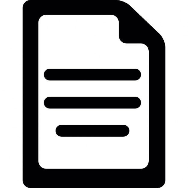 paper written icons  paper written icon