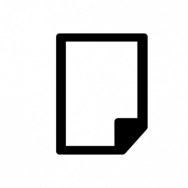 A paper Free Icon