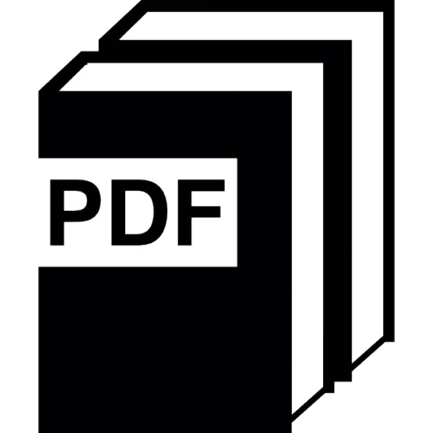 pdf book collection icons free download
