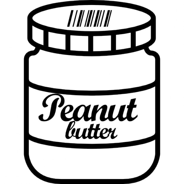 Peanut butter jar Icons | Free Download
