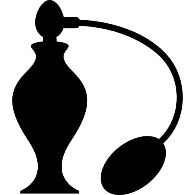 Perfume bottle with sprayer icons free download - Botellas para perfumes ...