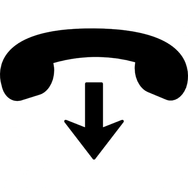 phone hang up icons free download
