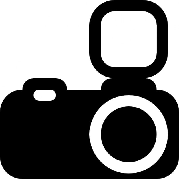 photo camera with flash icons free download rh freepik com camera vector icon camera vector icon free