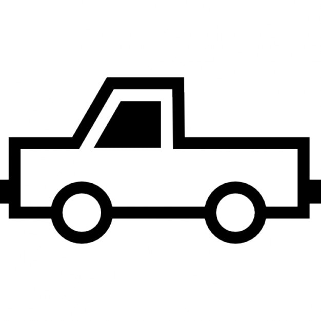 Pick up truck Icons | Free Download
