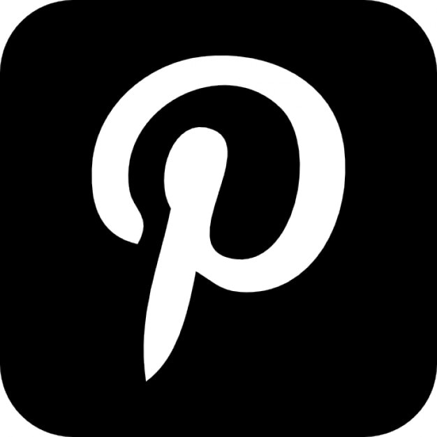 pinterest website logo icons free download