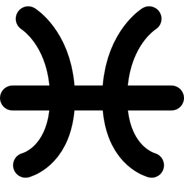 Pisces Astrological Sign Icons Free Download