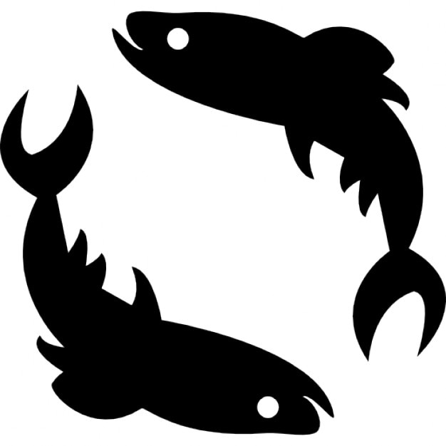 Pisces Zodiac Sign Icons Free Download