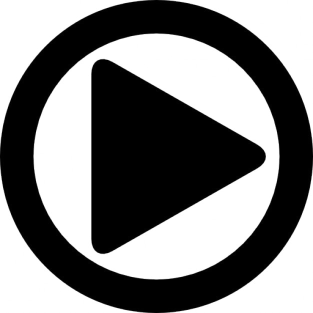 play button text symbol
