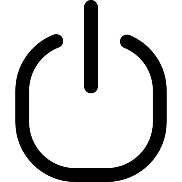 Power button universal symbol variant Icons | Free Download