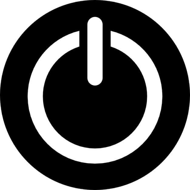 power circular button symbol icons free download power button logo for which software power button loose moto e4