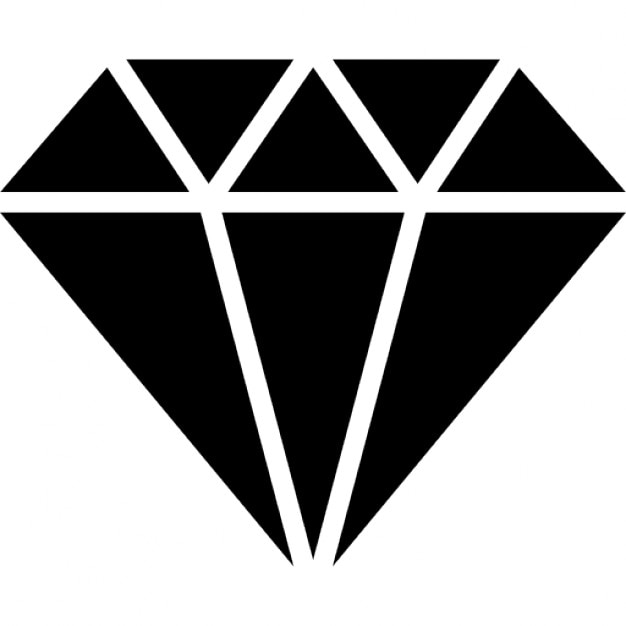 Black And White Diamond Logo Pictures To Pin On Pinterest