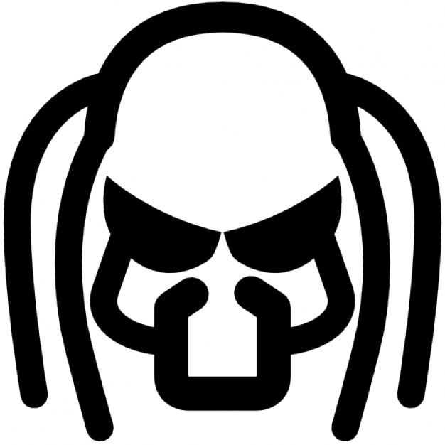 Predator Mask Icons Free Download