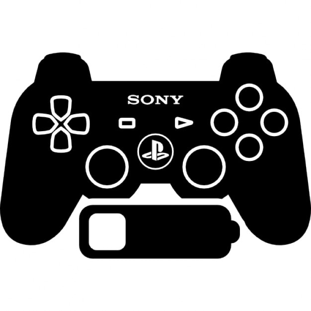 ps 3 games control with low battery status icons free download. Black Bedroom Furniture Sets. Home Design Ideas