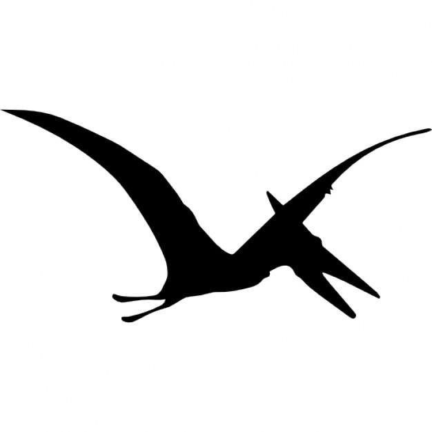 pterodactyl dinosaur bird shape icons free download