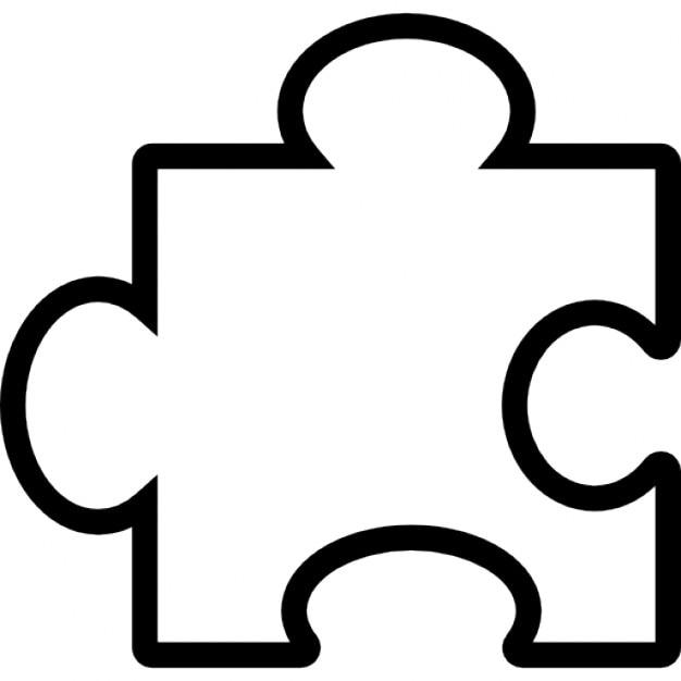 Puzzle piece outline