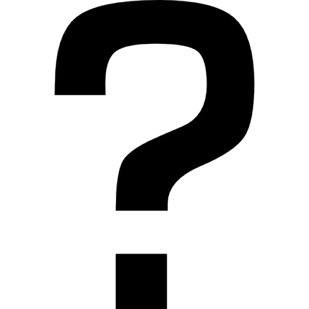 Question Mark Sign Icons Free Download