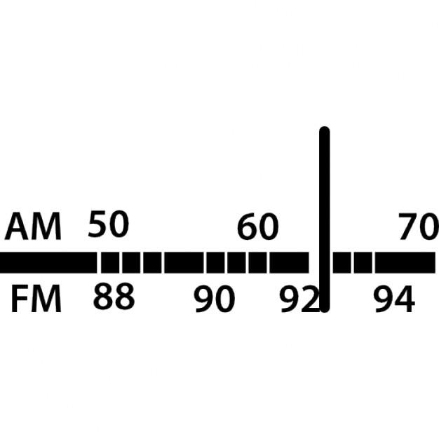 Hand tuning fm radio stock illustration. Illustration of broadcast.