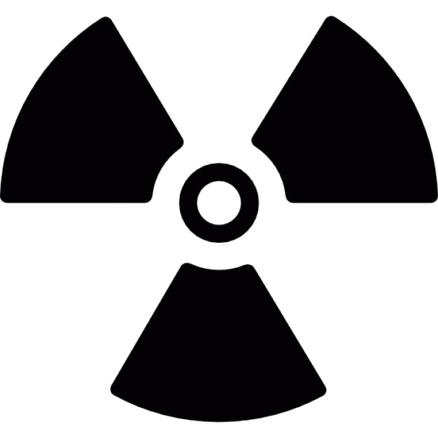 radioactive danger signal icons free download rh freepik com radioactive logo vector radioactive looking slime