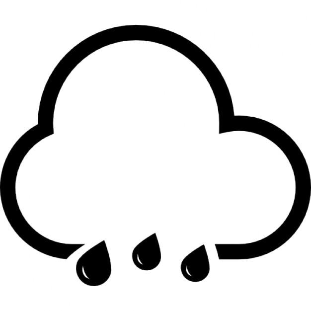 rain cloud icons free download