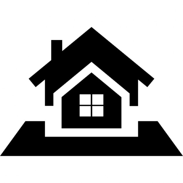 Real Estate Icon : Real estate symbol of bigger house proposal icons free