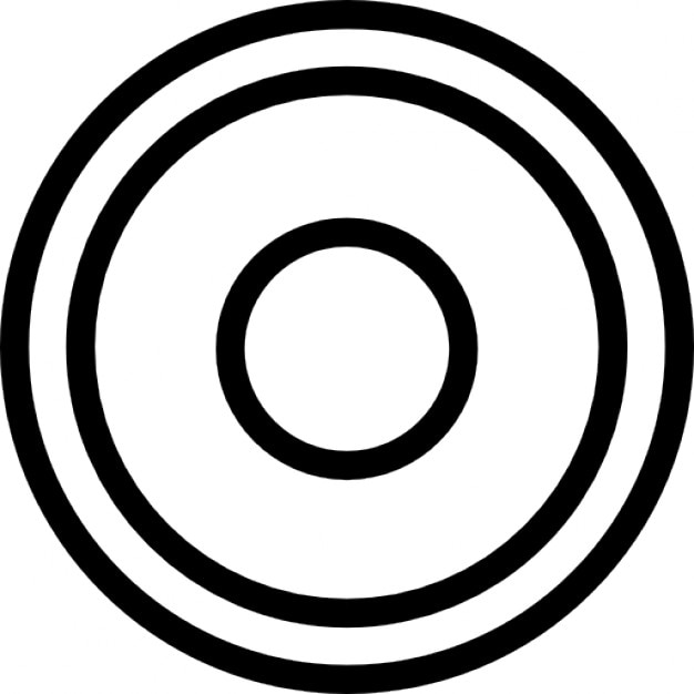 Record Circles Button Icons Free Download