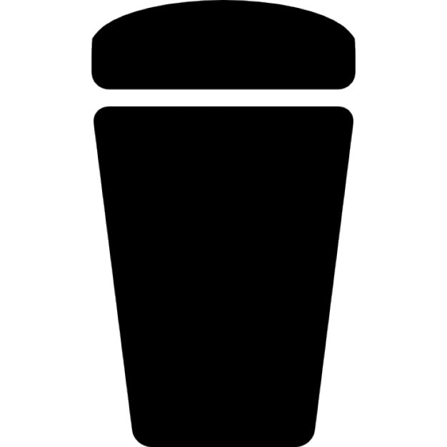 recycle bin black shape variant icons free download