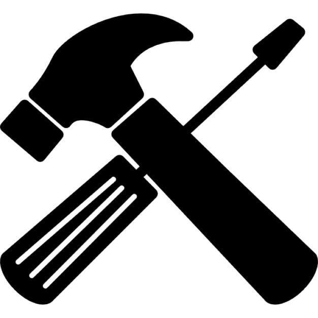 Repair tools cross free icon