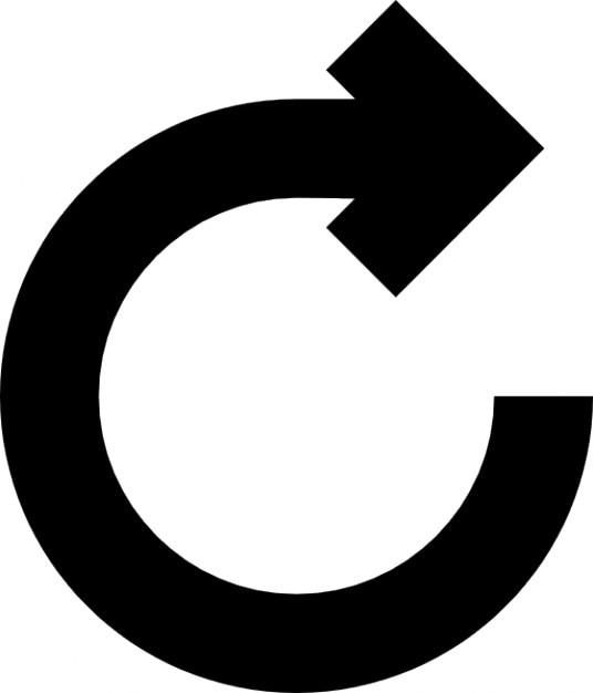 Return arrow Free Icon
