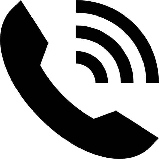 Ring Phone Auricular Interface Symbol With Lines Of The Sound Icons