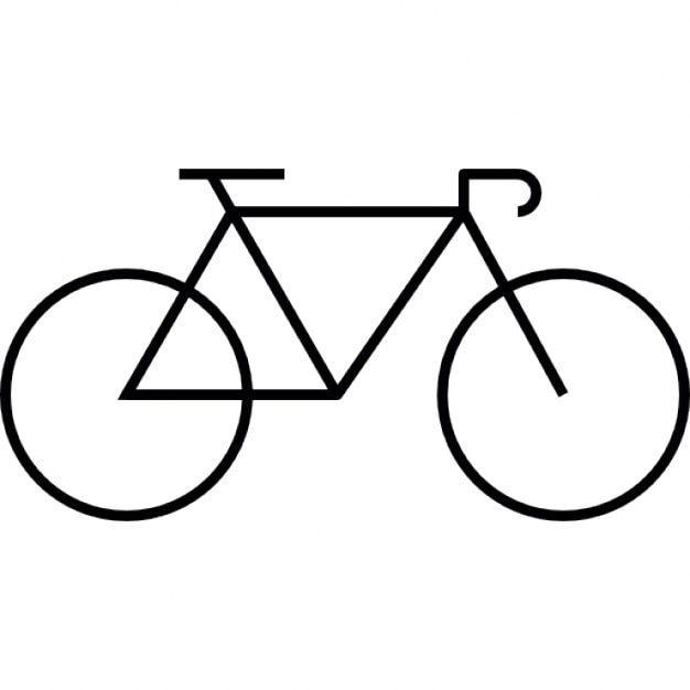 road bicycle icons free