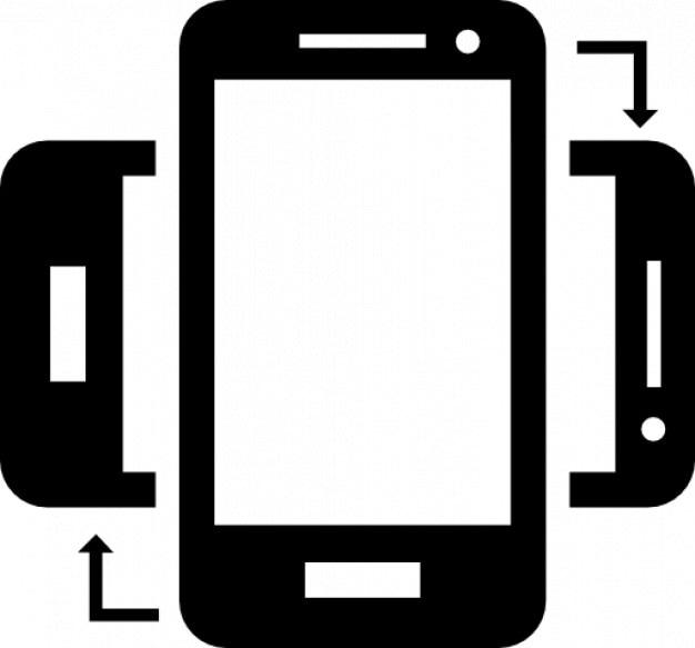 how to make iphone rotate