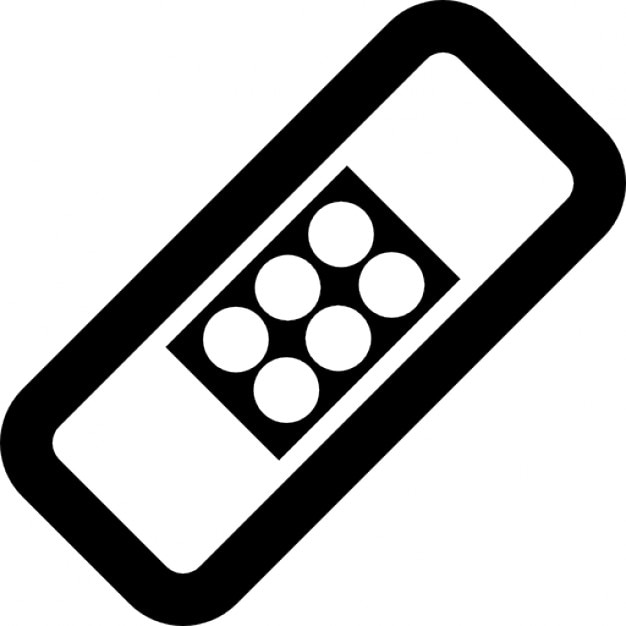Rotated rectangle with dots inside, IOS 7 interface symbol