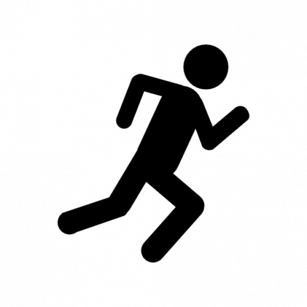 Risultati immagini per man run symbol