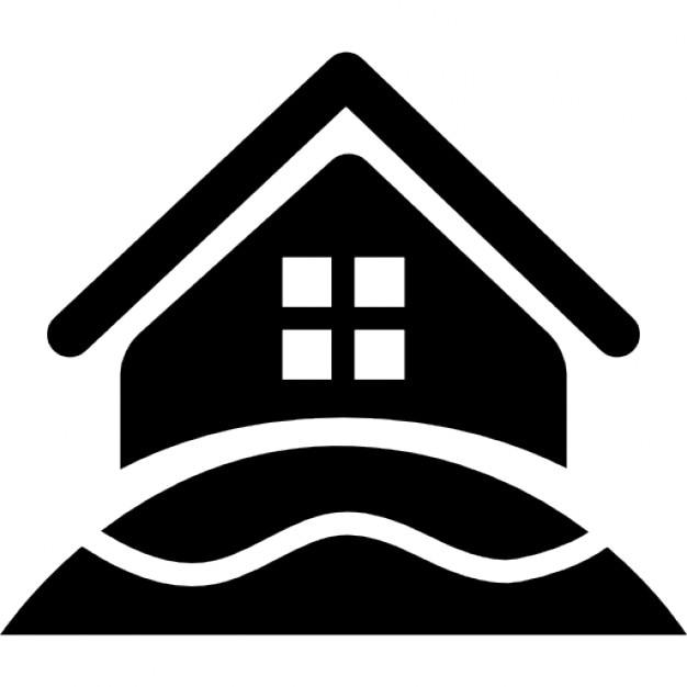 Rural hotel house icons free download - Logo casa rural ...