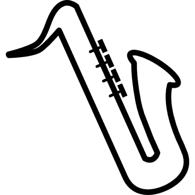 Saxophone Musical Instrument Ios 7 Interface Symbol Icons