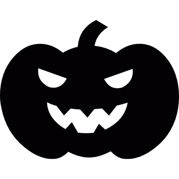 scary halloween pumpkin head icons free download rh freepik com Scary Halloween Clip Art Scary Halloween Ghost