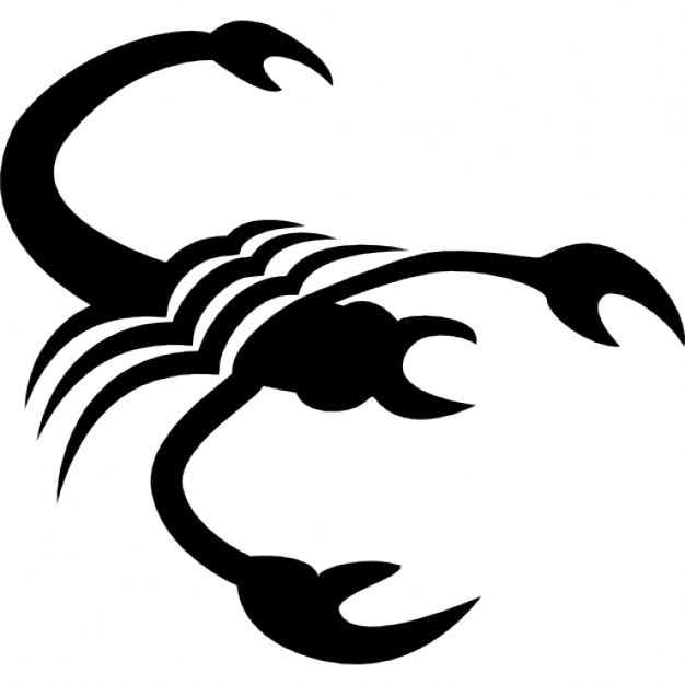 Scorpio Zodiac Symbol Icons Free Download