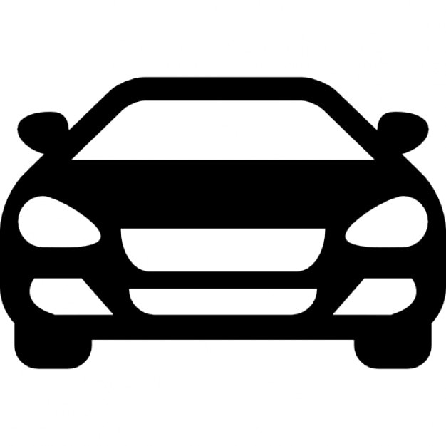 sedan car front icons free download rh freepik com car icon vector png car wash icon vector free