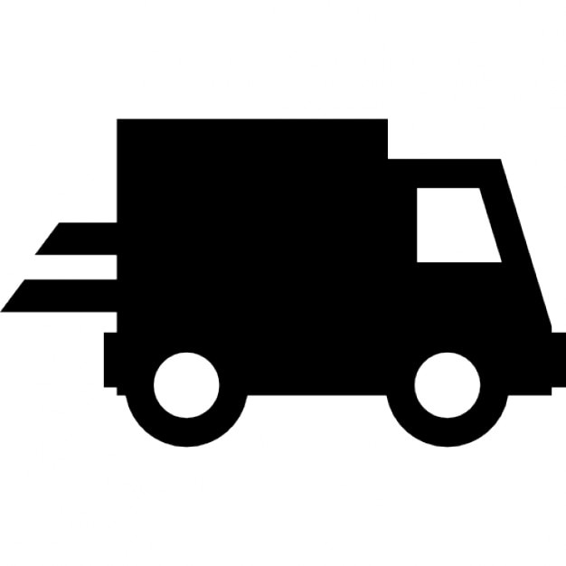 Shipping truck Free Icon