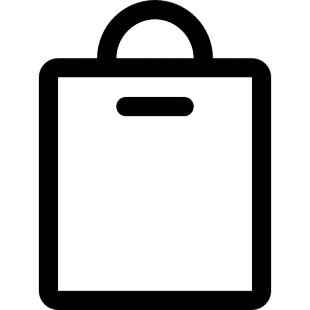 Shopping bag outline Icons | Free Download