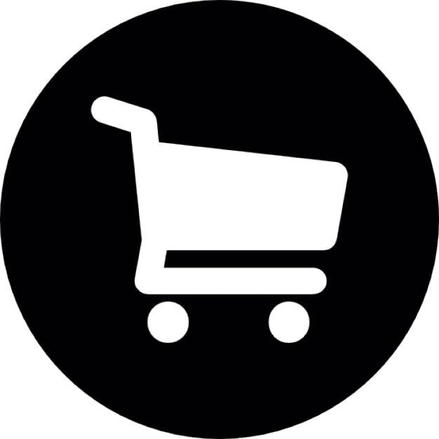 shopping cart circle icons free download