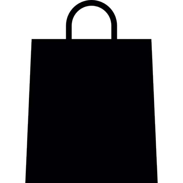 shopping paper bag icons  shopping paper bag icon