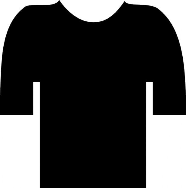 Short sleeve t-shirt Free Icon