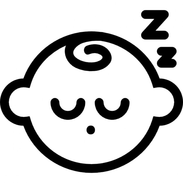 Sleeping baby Icons | Free Download