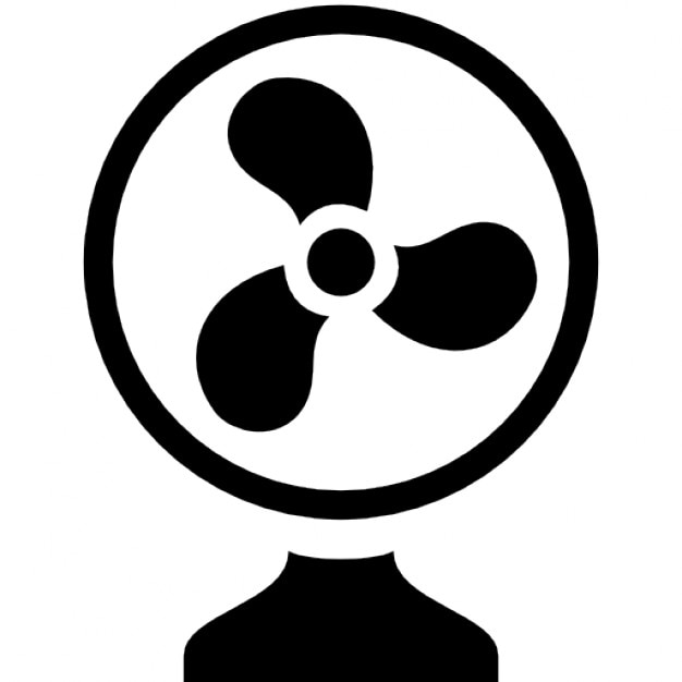 Small ceiling fan Free Icon